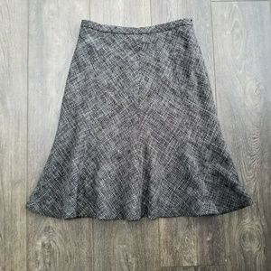 Allegory Tweed  Pleated Skirt - Size 4